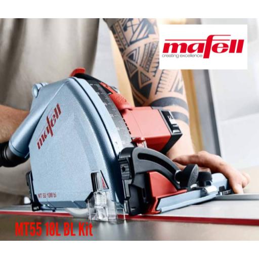 Mafell 18v Plunge Saw MT55 18L BL Kit