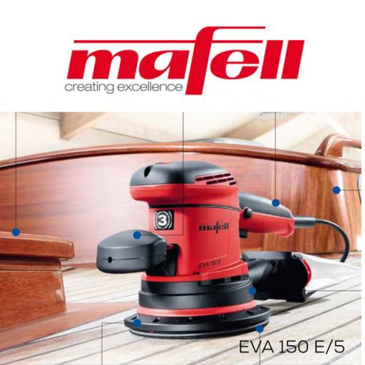 Mafell Eva 150 E / 5mm Orbital Sander