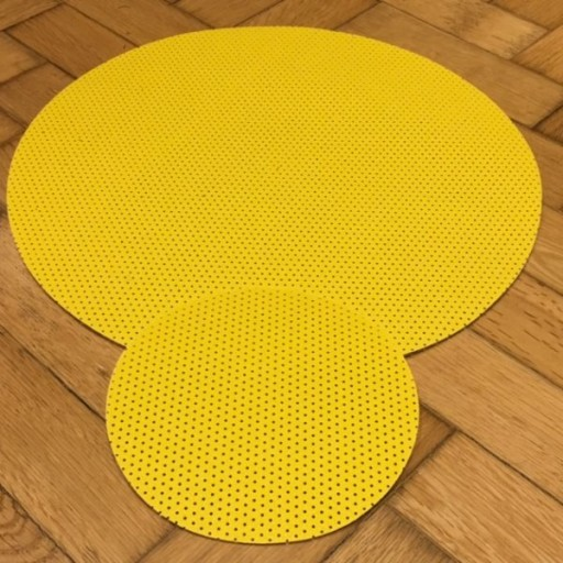 Yellow Sanding Discs 16″ 410mm