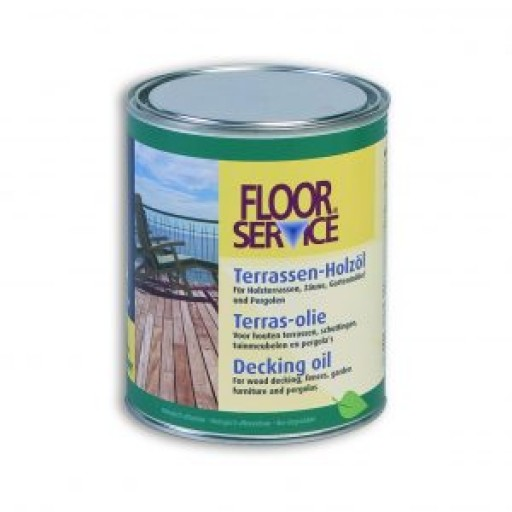 Decking Oil Overmat Floor Service 2.5 Litre