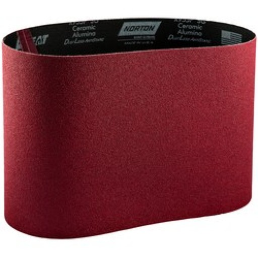 "Norton Red Heat 8"" Belts"