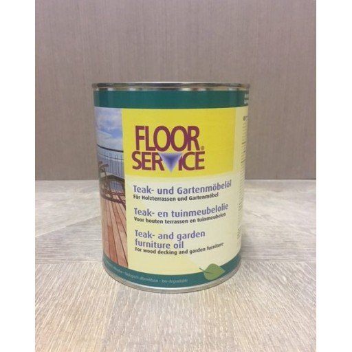Teak Garden Furniture Oil | Floor Service